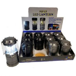 48 Units of 4 Inch Pop Up Cob Lantern - Flash Lights