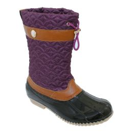 12 Units of Womens Duck Boot In Navy - Women's Boots