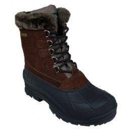 12 Units of Women's Waterproof Snow Boots In Brown - Women's Boots