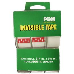 96 Units of Clear Invisible Tape - Tape