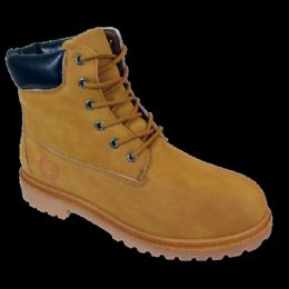 12 Units of Mens Lace Up Work Boot - Men's Work Boots