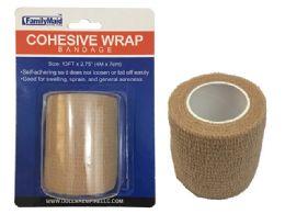 144 Units of Beige Bandage 7cm X4m - Bandages and Support Wraps