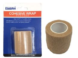144 Units of Beige Bandage 5cm X2.8m - Bandages and Support Wraps