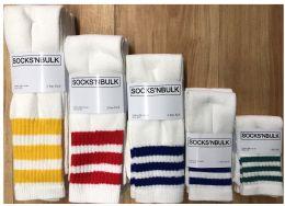 600 Units of Sock Pallet Deal Mix Of All New Tube Sock For Men Women Children - Sock Pallet Deals