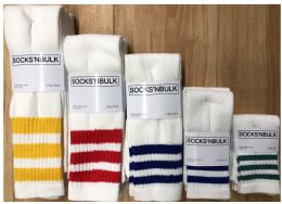 600 Units of Sock Pallet Deal Mix Of All New Tube Sock For Men Women Children Great Buy - Sock Pallet Deals