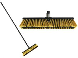 6 Units of Jumbo Push Broom - Cleaning Products