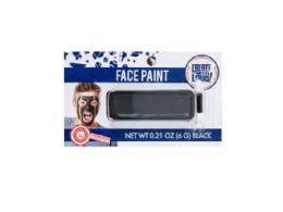 144 Units of Face Paint - Black - Costumes & Accessories