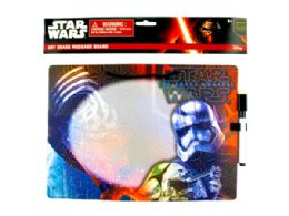 72 Units of Star Wars Dry Erase Board in Assorted Designs - Dry Erase