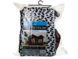 3 Units of Luxury High End Double Pet House Brown Dog Room - Pet Accessories