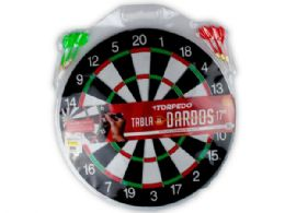 12 Units of Dartboard Set with 6 Darts - Toy Sets