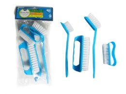 96 Units of 4pc Cleaning Dish Brushes - Cleaning Products