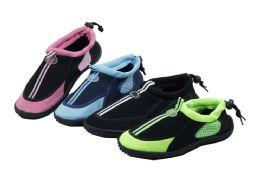 36 Units of Womens Athletic Water Shoes Pool Beach Aqua Socks - Women's Aqua Socks