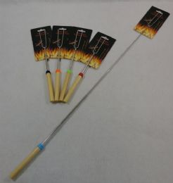 60 Units of Extendable Two Prong BBQ Fork - BBQ supplies