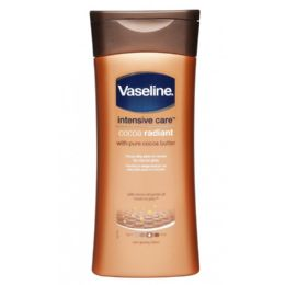 60 Units of Vaseline Cocoa Radiant Body Lotion Shipped By Pallet - Skin Care