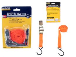96 Units of Ratchet Tie Down Strap - Bungee Cords