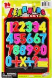 96 Units of Plastic ABC & 123 Educational Game - Educational Toys
