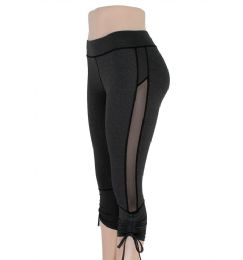 72 Units of Womens Yoga Active Wear Capri Leggings - Womens Leggings