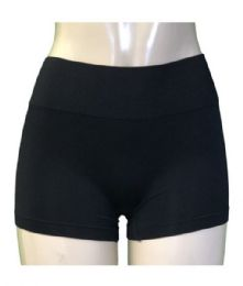 24 Units of Kali & Wins Lady's Seamless Boyshort in Size L/XL - Womens Panties & Underwear