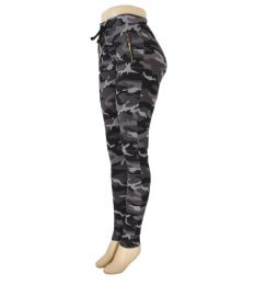 72 Units of Womens Yoga Active Wear Track Pants Camo Print - Womens Leggings