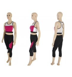 60 Units of Womens 2 Piece Active Wear Set - Womens Active Wear