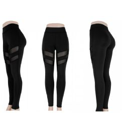 72 Units of Womens Mesh Leggings And Active Wear - Womens Leggings