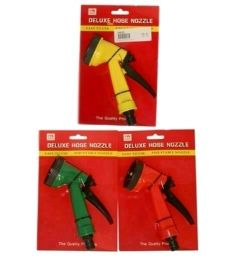 36 Units of Deluxe Hose Nozzle - Garden Hoses and Nozzles