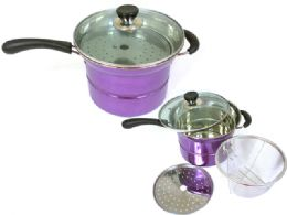 10 Units of MultI-Function Stainless Steel Pot - Pots & Pans
