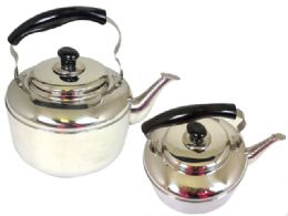 12 Units of Stainless Steel Whistling Tea Kettle - Kitchen Gadgets & Tools