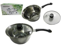 24 Units of Soup Pot W/ Handle - Pots & Pans