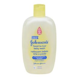 120 Units of Johnson's Head to Toe Wash Regular Shipped By Pallet - Baby Beauty & Care Items