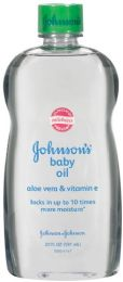 240 Units of Johnson's Aloe Baby Oil Shipped By Pallet - Baby Beauty & Care Items