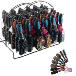 96 Units of Beauty Hair Mini Brush Rack - Hair Brushes & Combs