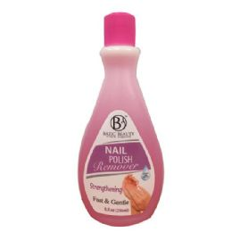 240 Units of Bazic Beauty Strengthening Nail Polish Remover Shipped By Pallet - Manicure and Pedicure Items