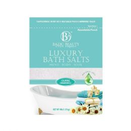 60 Units of Bazic Beauty 4lb Calming Chamomile Epsom Salt Shipped By Pallet - Skin Care