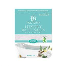 60 Units of Bazic Beauty 4LB Eucalyptus Epsom Salt Shipped By Pallet - Skin Care