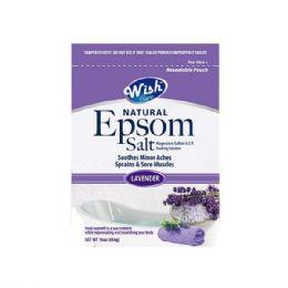 120 Units of Wish 16 Oz Lavender Epsom Salt Shipped By Pallet - Skin Care