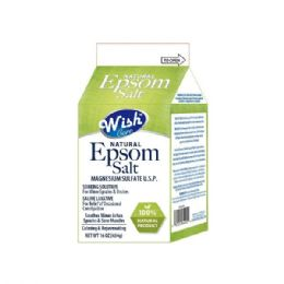 120 Units of Wish 16 Oz Original Epsom Salt Box Shipped By Pallet - Skin Care