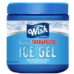 72 Units of Wish 8 Oz Vaporizing Ice Chest Rub - Pain and Allergy Relief