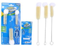 96 Units of 3pc Soft Duster Brushes - Cleaning Products