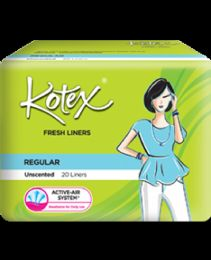 48 Units of 20 Piece Kotex Unscented Liner - Personal Care Items