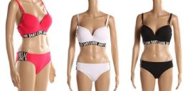 24 Units of Womens 2 Piece Bathing Suite Assorted Colors - Womens Swimwear