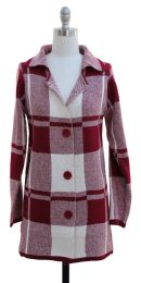 12 Units of Ruffle Cardigan Sweater Pink - Womens Sweaters & Cardigan