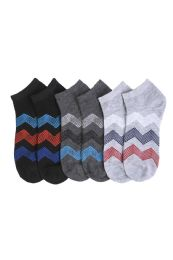 432 Units of Youth Spandex Ankle Socks Size 9-11 - Boys Ankle Sock