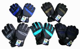 60 Units of Men's Ski Gloves - Ski Gloves