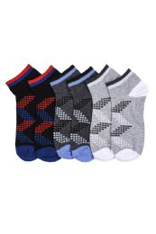 216 Units of Youth Spandex Ankle Socks Size 9-11 - Boys Ankle Sock