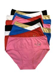 240 Units of Sheila Lady's Cotton Brief - Womens Panties & Underwear