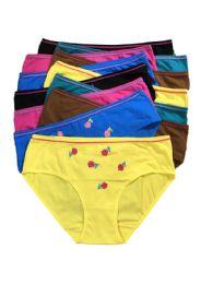 48 Units of Sheila Lady's Cotton Bikini - Womens Panties & Underwear