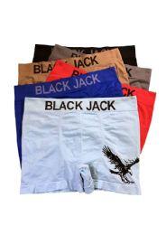 240 Units of Blackjack Men's Seamless Boxer Brief - Mens Underwear