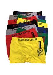 192 Units of Blackjack Junior Seamless Boxer Brief - Boys Underwear
