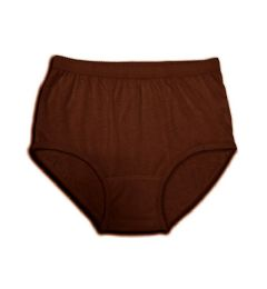 150 Units of Women's Brown Cotton Panty, Size 7 - Womens Panties & Underwear